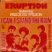 single eruption i can't stand the rain