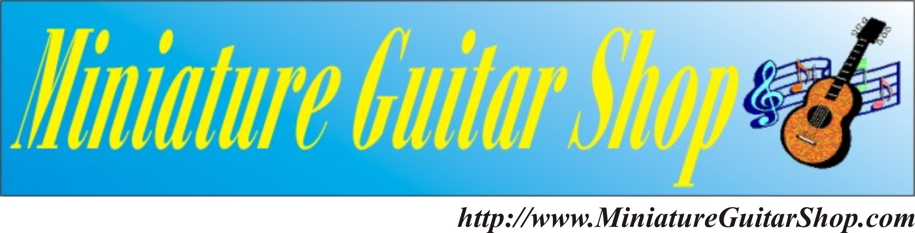 Miniature Guitar Shop