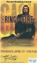 Flyer musical Broadway: Ring of Fire (Johnny Cash