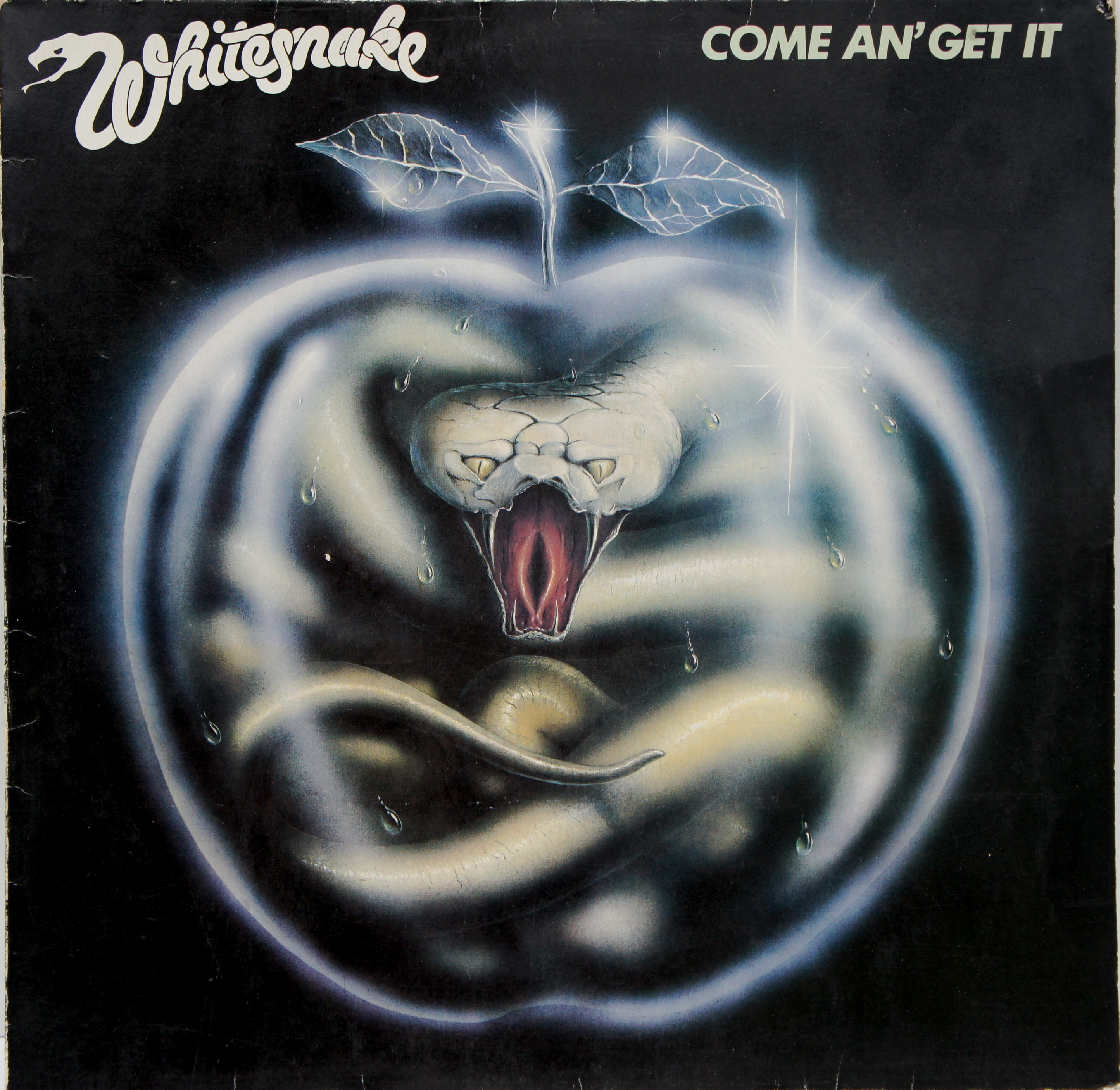 whitesnake - come an' get it tweedehands